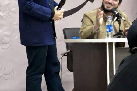 محضر مداح انقلابی حاج امیر عباسی